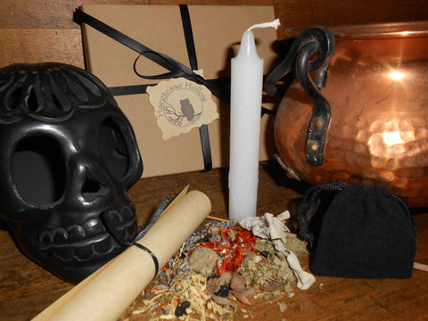 SAMHAIN - Nature's Wheel™ DIY Ritual Kit - Halloween, Celtic New Year - CynCraft