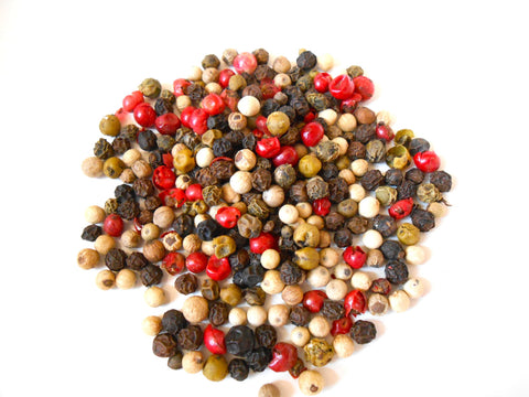 Rainbow Peppercorn - Organic, Whole - Four Pepper Types - CynCraft