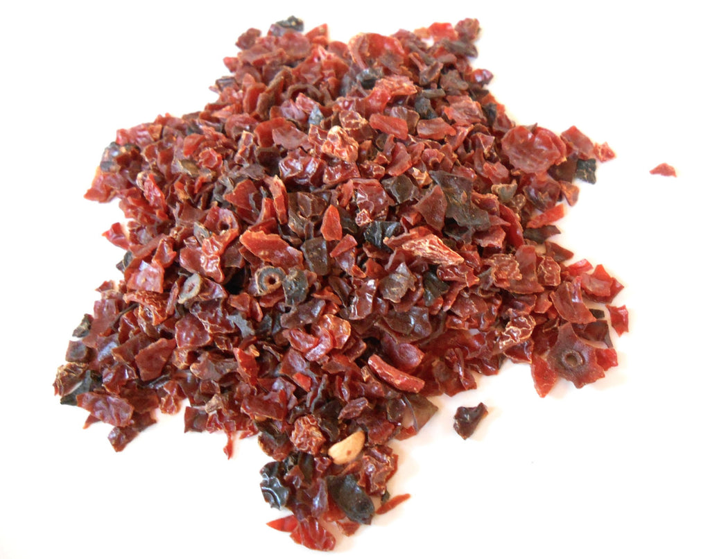Rosehips, Rose Hips - Chopped, Dried - Organic - CynCraft