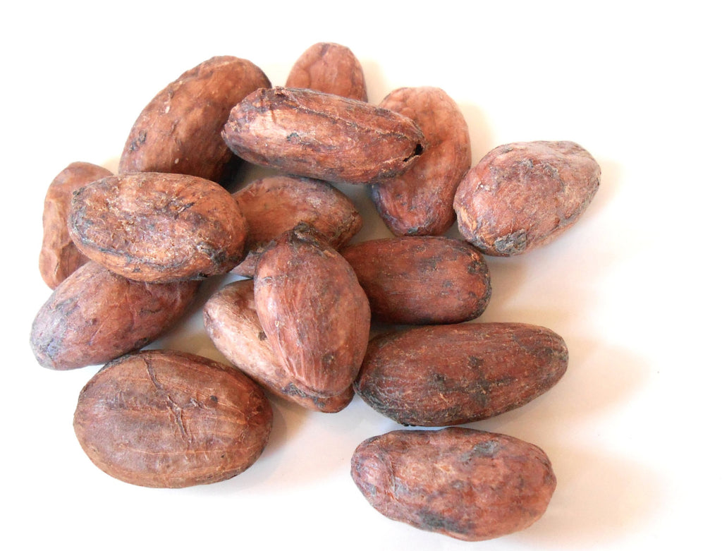 RAW CACAO BEANS, Organic - Dark Cocoa, Chocolate