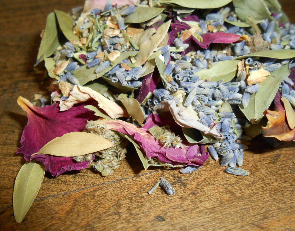 Custom and Personalized Loose Incense Potpourri Blend, All-Natural - CynCraft