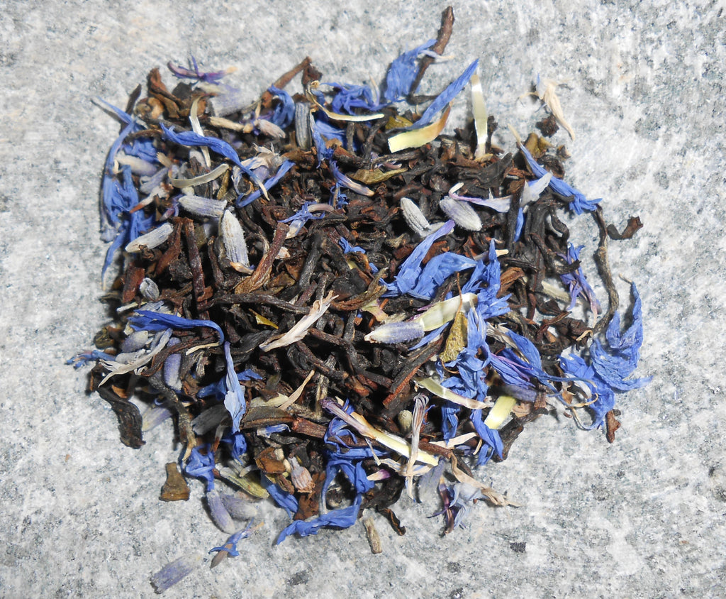 BLUE MONDAY Artisan Tea Blend, Organic - CynCraft