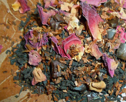 DEEP LOVE Artisan Tea Blend, Organic - CynCraft