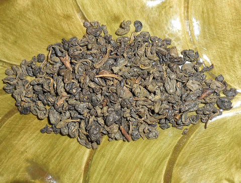 Gunpowder Green Loose Tea, Organic - CynCraft