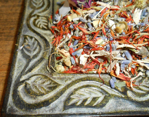 Personalized RITUAL INCENSE Offering - Customized, Consecrated Potpourri Blend
