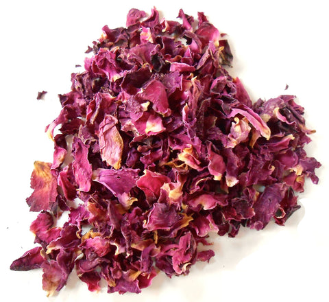 Red Rose Petals, Organic - CynCraft