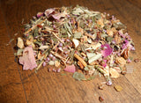 CraftTea™ Ritual Tea - ROSY LUCK Blend - Sip for a Spell™ - CynCraft