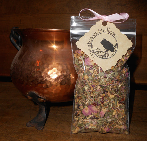 CraftTea™ Ritual Tea - ROSY LUCK Blend - Sip for a Spell™