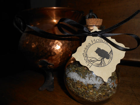 Witch Bottle Spell Jar -- BLOCK, BANISH, BIND