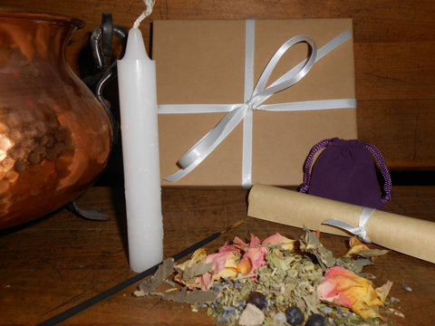 IMBOLC - Nature's Wheel™ DIY Ritual Kit - Candlemas, Brigid's Feast, Groundhog Day