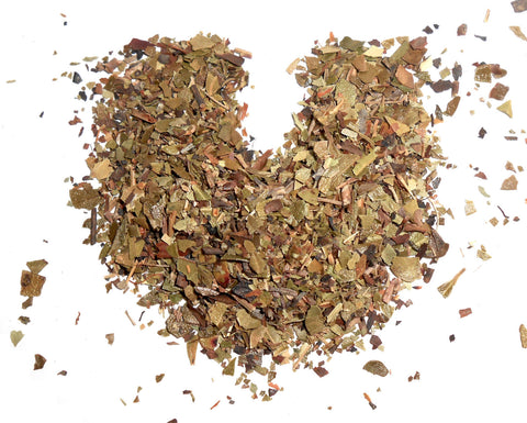 Uva Ursi Leaf, Organic - Cut and Sifted - Dried Bearberry Leaves - CynCraft
