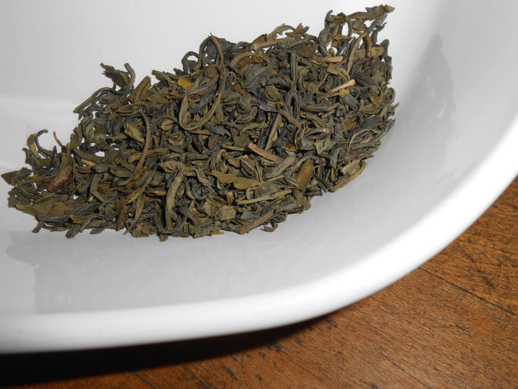 YOUNG HYSON Green Tea, Organic - Lucky Dragon Tea - Yu Chin Cha - CynCraft
