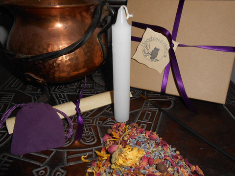 LUGHNASADH - Nature's Wheel™ DIY Ritual Kit - Lammas, First Harvest - CynCraft