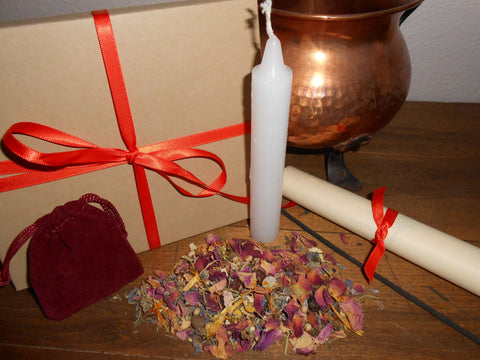 HARVEST HOME - Nature's Wheel™ DIY Ritual Kit - Mabon, Autumn Equinox, Second Harvest, HerFest - CynCraft