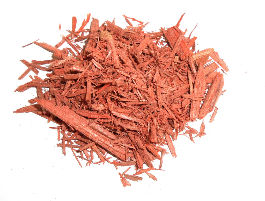 Red Sandalwood Chips, Ethically Wild-Harvested