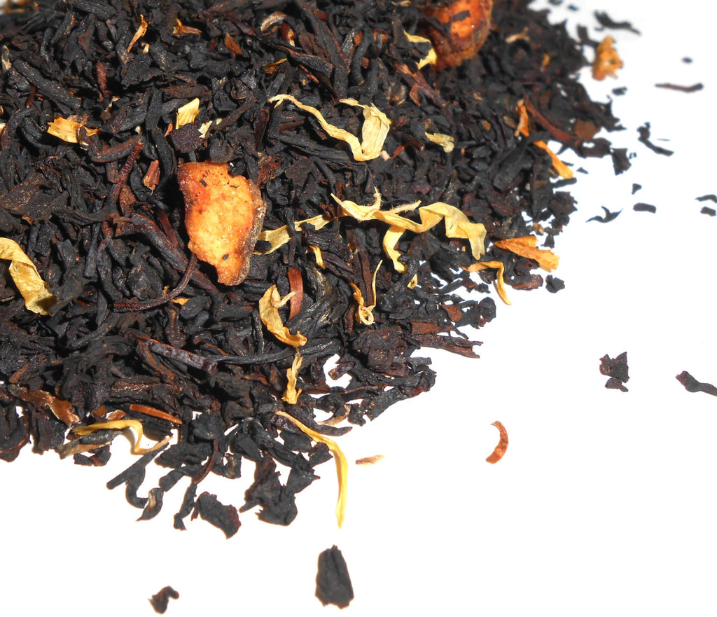 JUST PEACHY Artisan Tea Blend, Organic - CynCraft