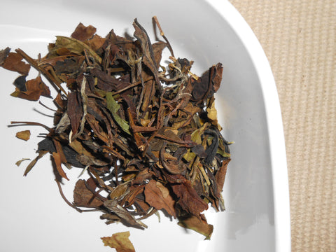 SHU MEE White Tea, Loose Leaf - Shou Mei Eyebrow Tea - CynCraft