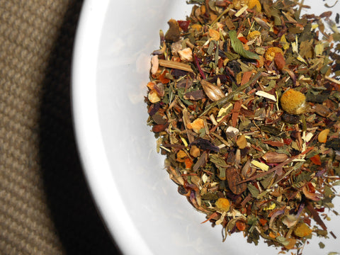 REFRESH and REBOOT Artisan Specialtea Blend - 19 Teas, Herbs, Spices - CynCraft