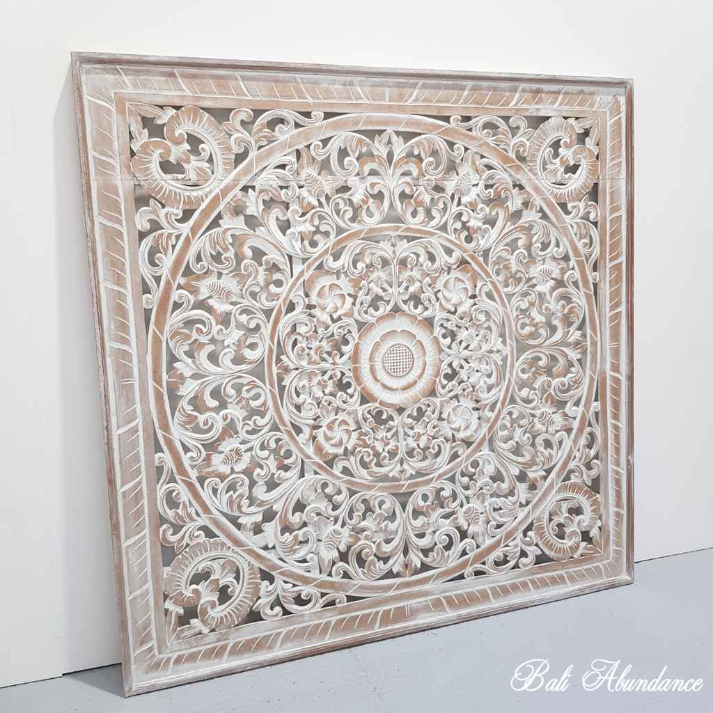 Hand Carved Panel RAW 150 X 150
