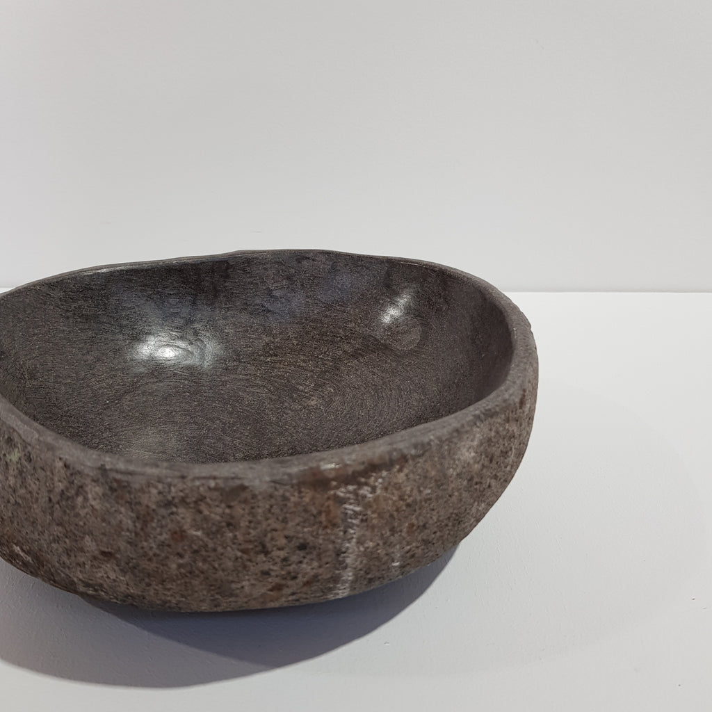 Grey Stone Bowl - Small 11R