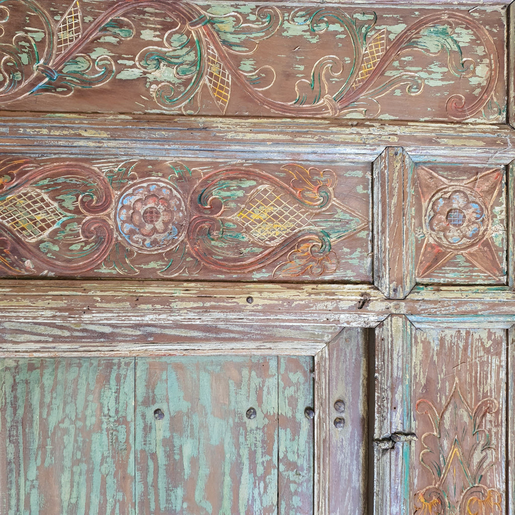 Balinese Original Vintage Door Set of 3 - 13N