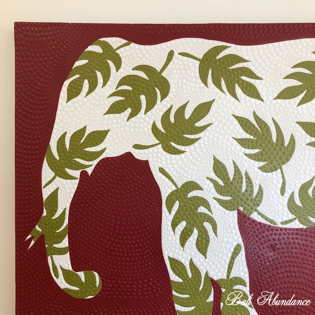 Elephant Canvas Painting 305N