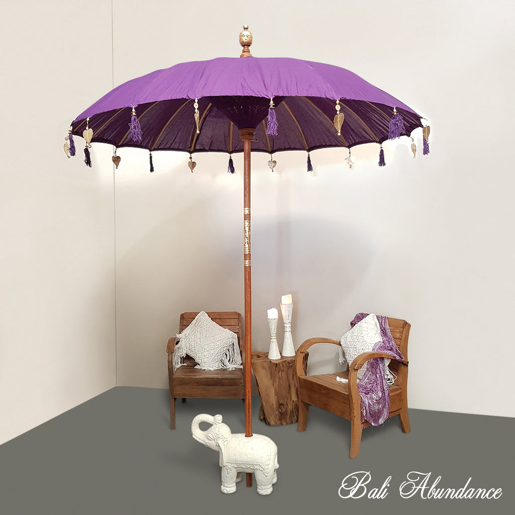 Balinese Purple Umbrella
