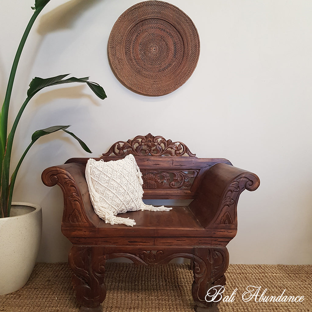 Balinese Recycled Teak Arm Chair