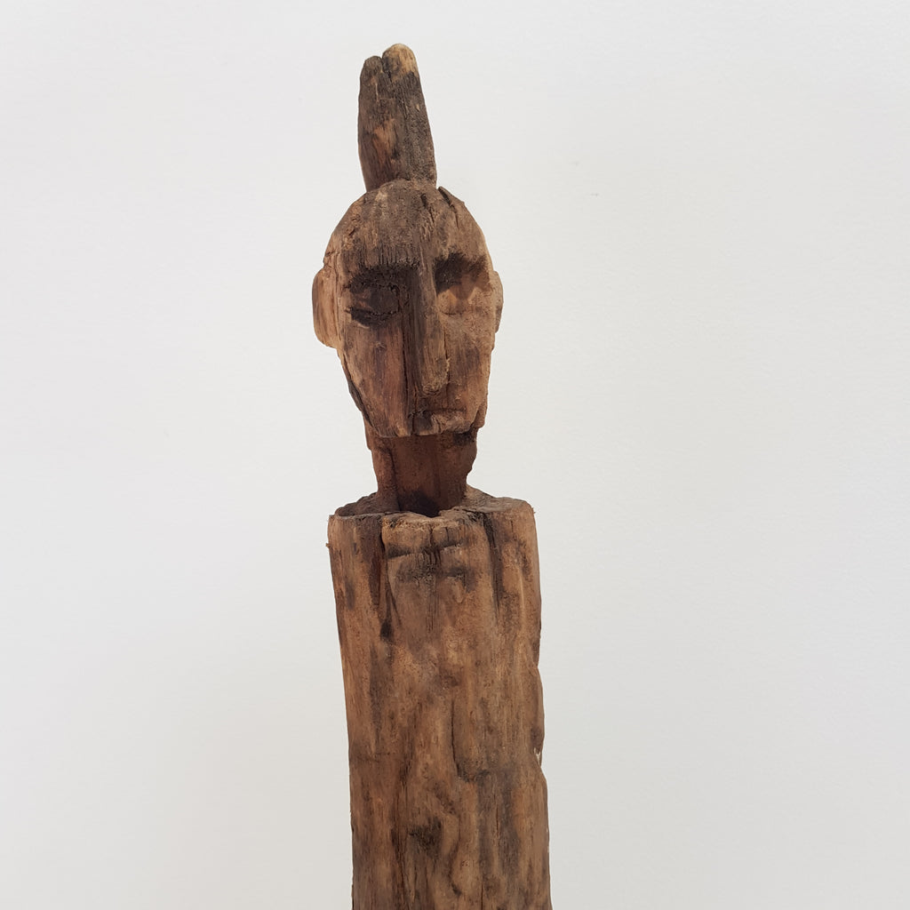 Balinese Wooden Totem Timor Statue 35S