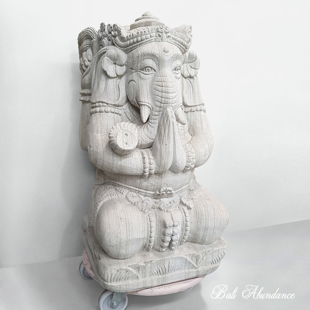 Hand carved Brexi Stone Ganesha 37L