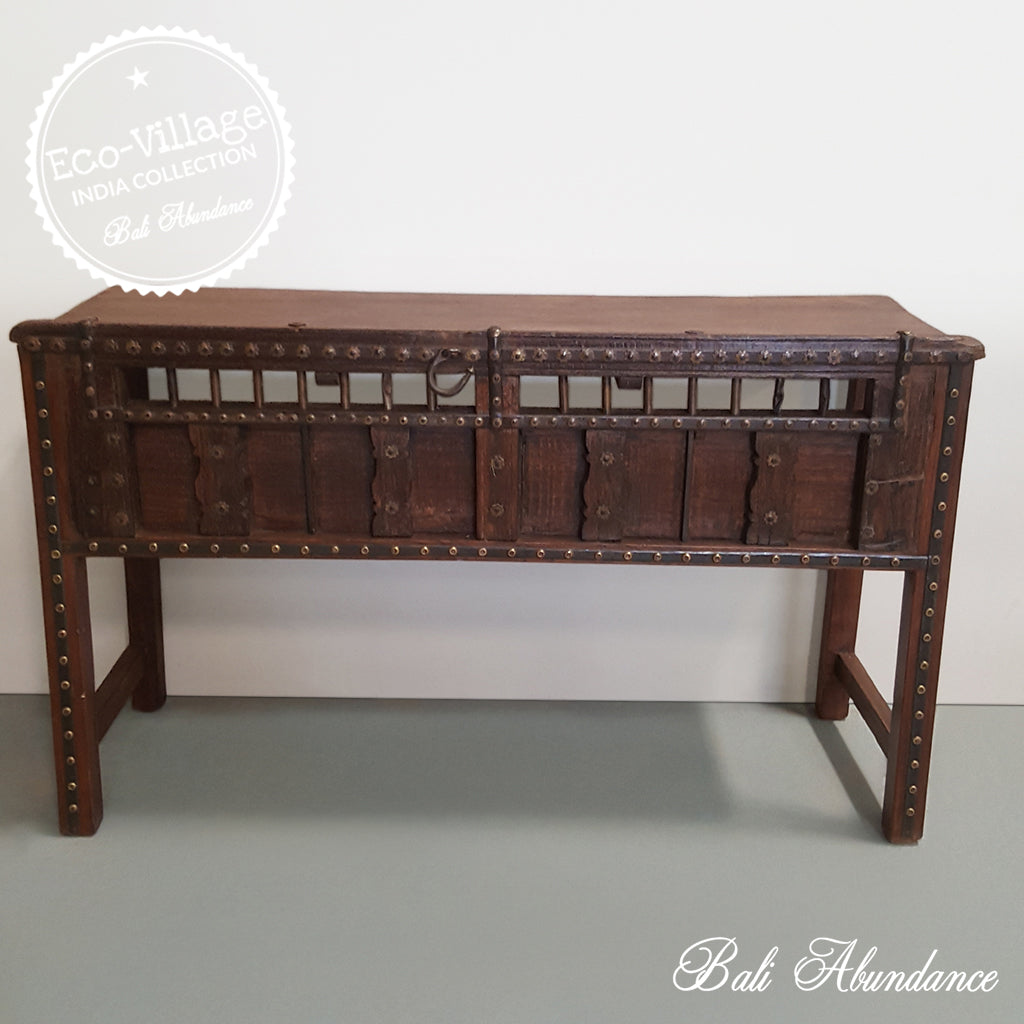 Indian Ox Cart Console - Eco Village Collection