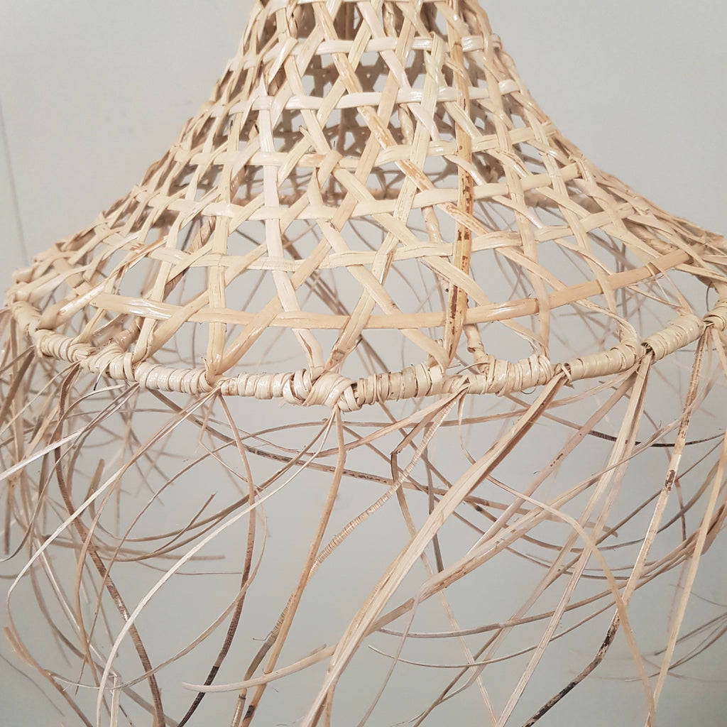 Rattan Light shade Pendant - Medium