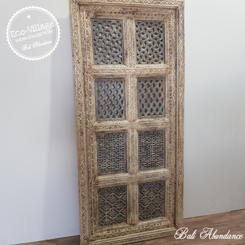 Indian Jali Screen Panel - Eco Village Collection 51U