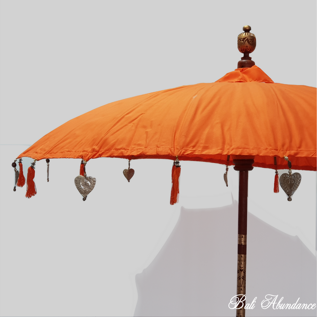 Balinese Umbrella 2m - Orange