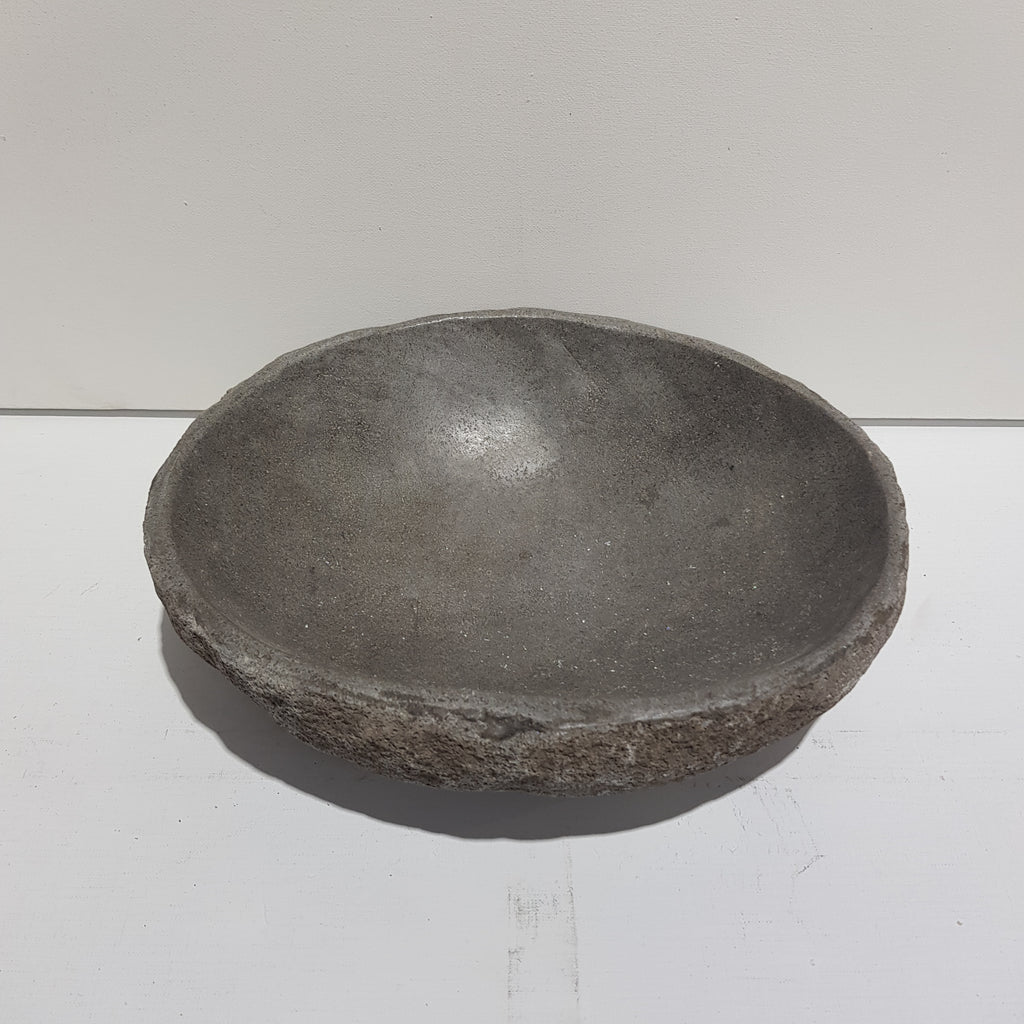 Grey Stone Bowl - Medium 56M