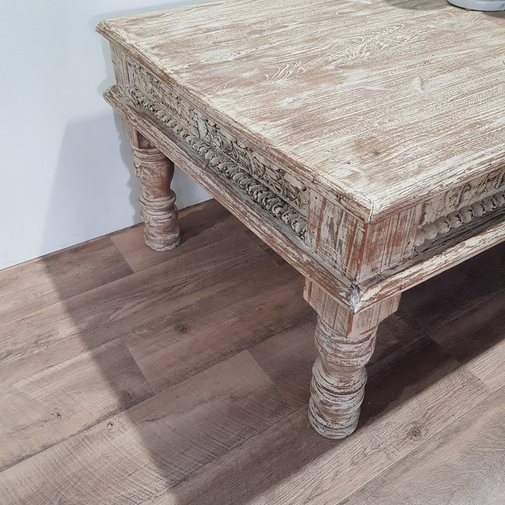 Indian Coffee Table - Eco Village Collection 56U