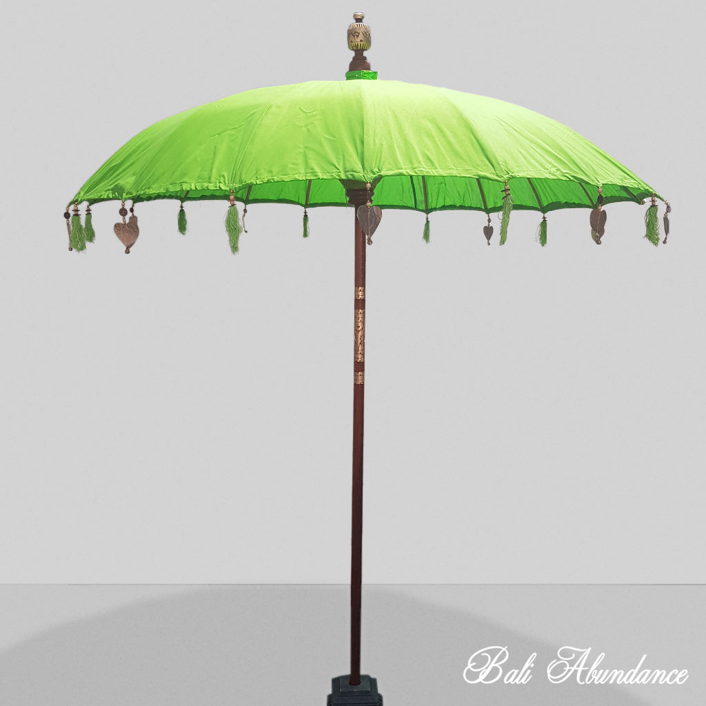 Balinese Lime Umbrella 2m
