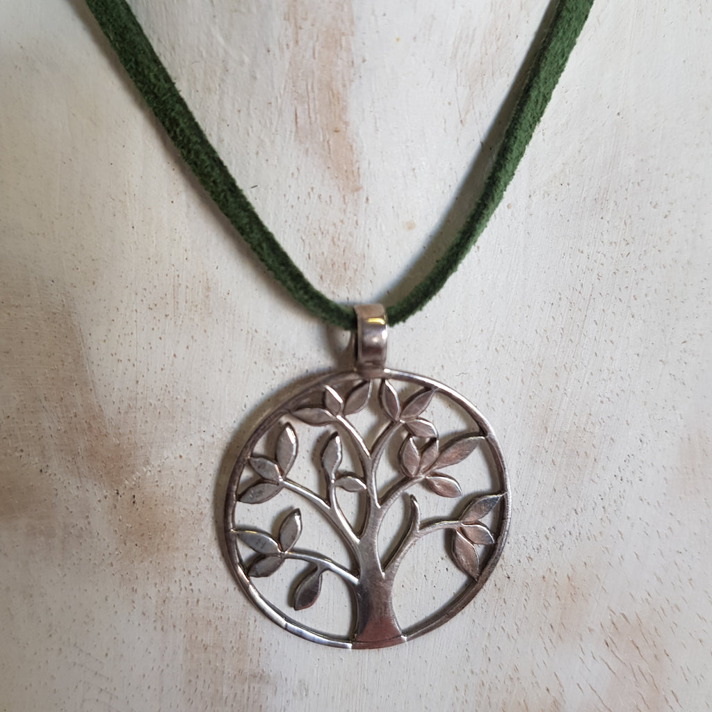 Balinese Handmade Tree of Life Pendant Necklace