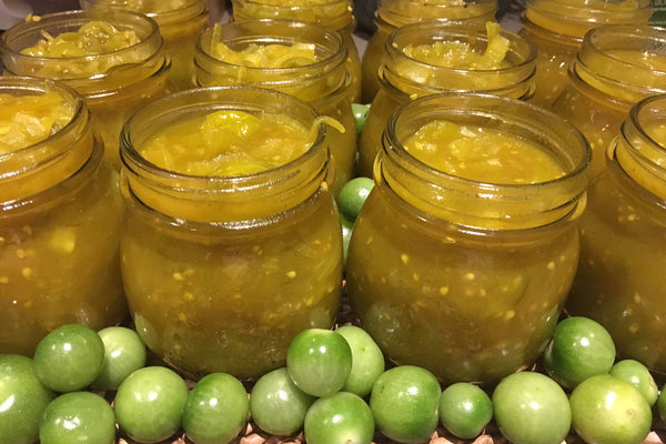 PRODUCE: Green Tomato Relish