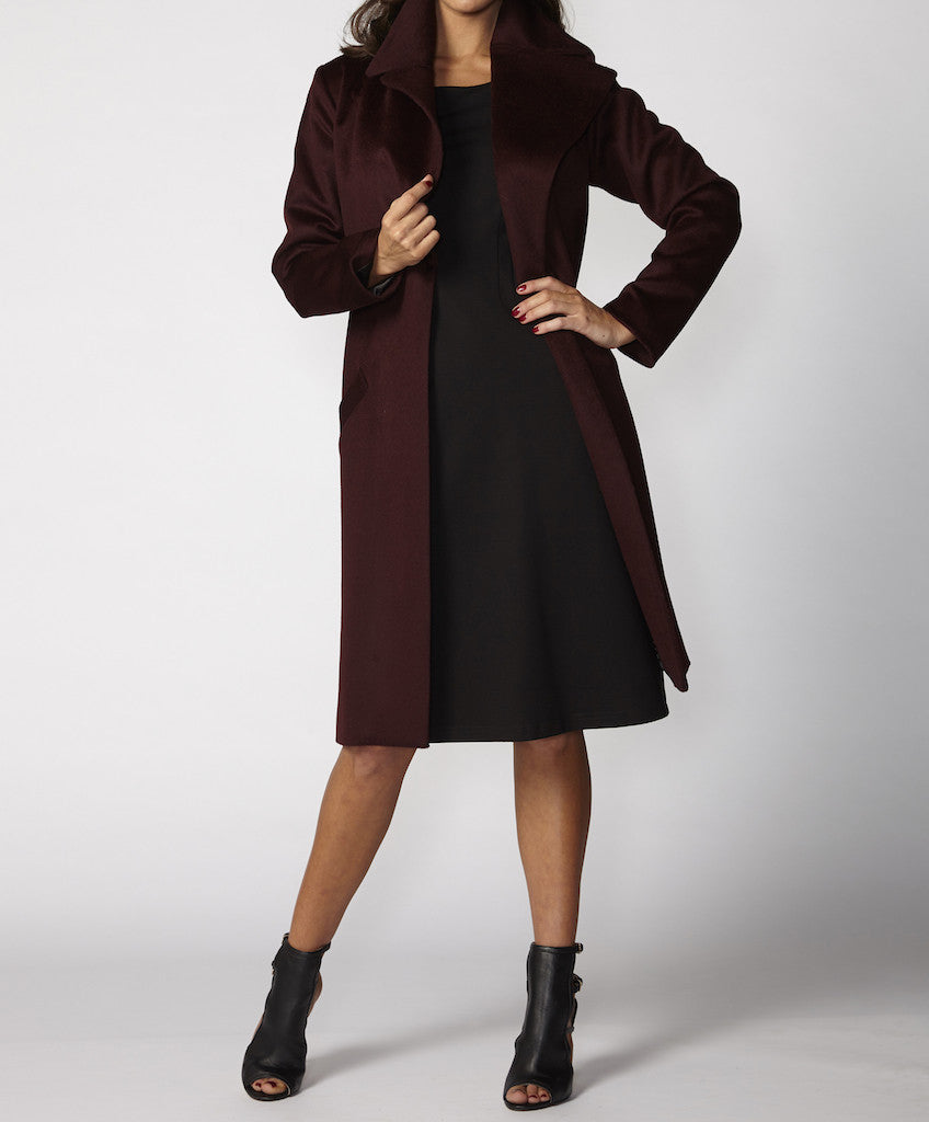 Very Very Winter 2017: Chelsea PCW - a midi duster style coat available in berry and ink