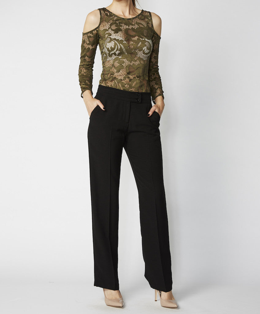 Very Very man-style pant Philus MAS, available in black, ink and khaki