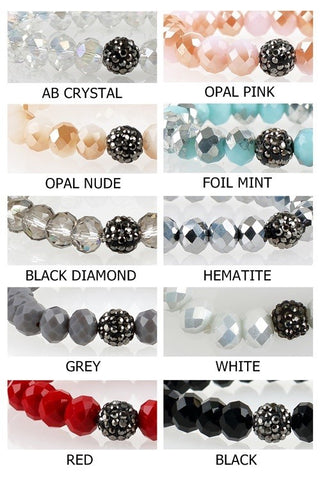 Crystal Stretch Bracelets