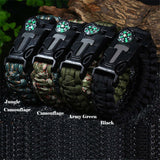 5-In-1 Survival Paracord Bracelet FREE + SHIPPING Deal