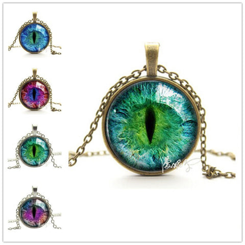 Cats Eye Pendant Necklace