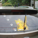 Car Window Wiper Cat Sticker With Moving Tail FREE + SHIPPING Deal