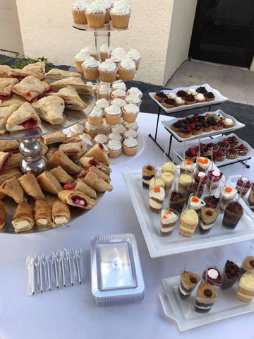 dessert table decor, wellington florida, mini desserts