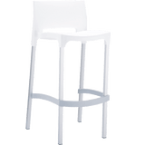 Gio Stool - White - Commercial Bar Stools