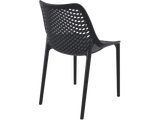 Air Chair - Outdoor Chairs - back - Black