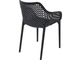 Air XL Armchairs  - Outdoor Chairs - Back - Black