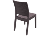 Florida Outdoor Chairs - Back - Chocolate